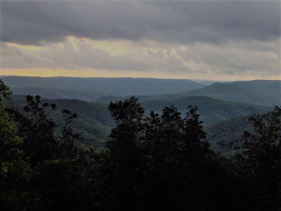 Arkansas_Buffalo River valley near Ponca
