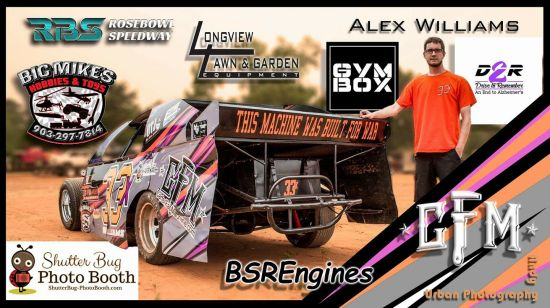 Alex Williams racing 3