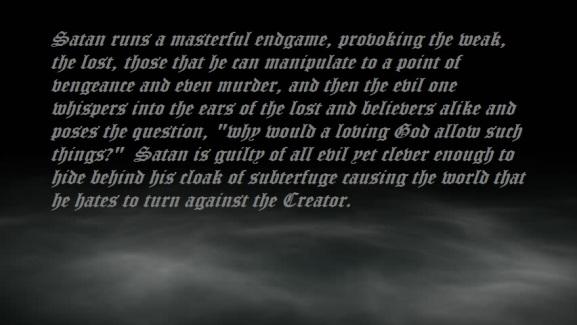 Satan's end game2